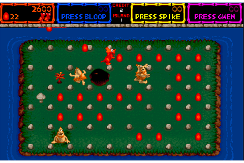 Trog - Videogame by Bally Midway