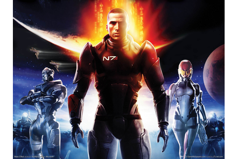 game wallpapers - mass effect 2