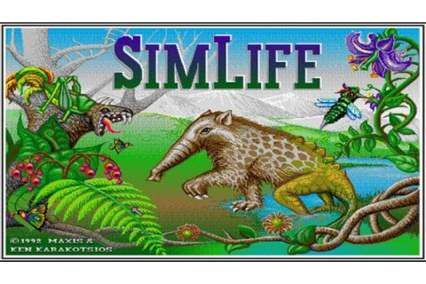 SimLife gameplay (PC Game, 1992) - YouTube