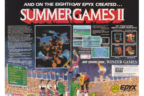 Summer Games II – C64-Wiki