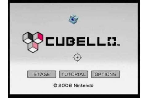 CUBELLO -Art Style- [WiiWare] Level 1-A and 2-A - YouTube