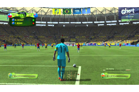 FIFA 14 World Cup - Chile vs Australia - Simulation Game ...