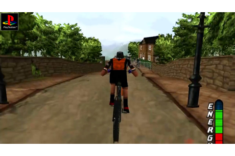 No Fear Downhill Mountain Biking - Gameplay PSX / PS1 / PS ...