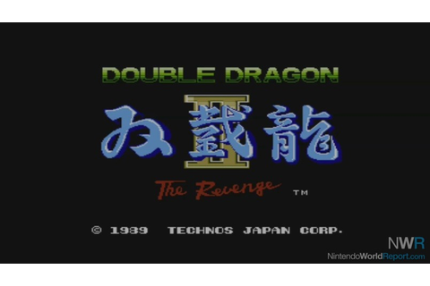 Double Dragon II: The Revenge - Game - Nintendo World Report