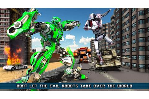 Helicopter Robot Transformation Game 2018 - Android Apps ...