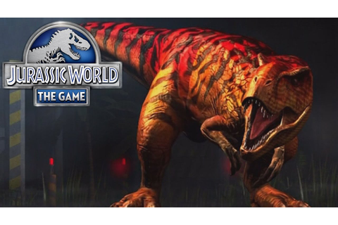 Jurassic World The Game (iOS/Android) T-REX BOSS FIGHT ...