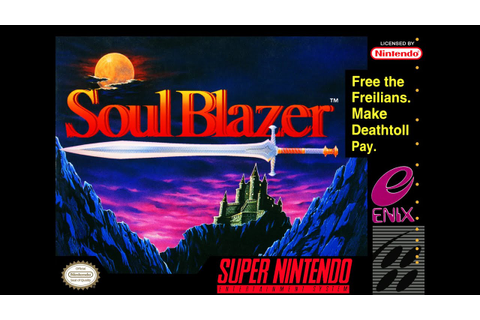 Is Soul Blazer Worth Playing Today? - SNESdrunk - YouTube