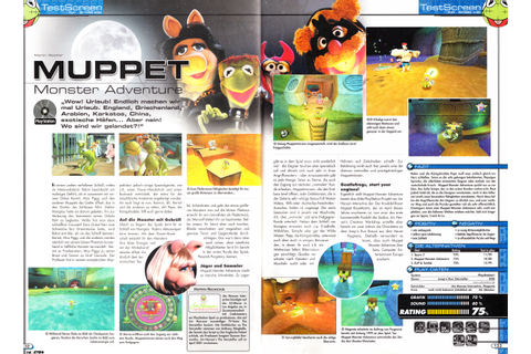 Muppet Monster Adventure (PlayStation) - N.i.n.Retro (New ...