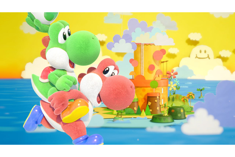 Yoshi's Crafted World: 'Weighing Acorns' Stage (and its ...