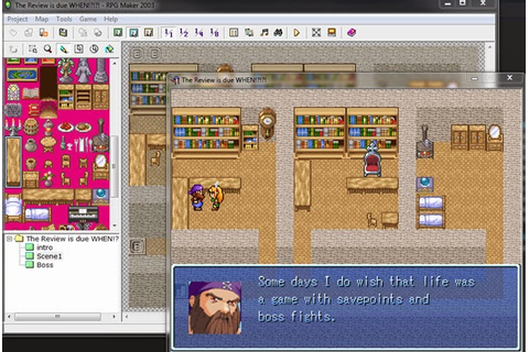RPG Maker 2003 - PC Review | Chalgyr's Game Room