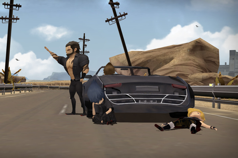 Final Fantasy XV's mobile version is a perfect ...