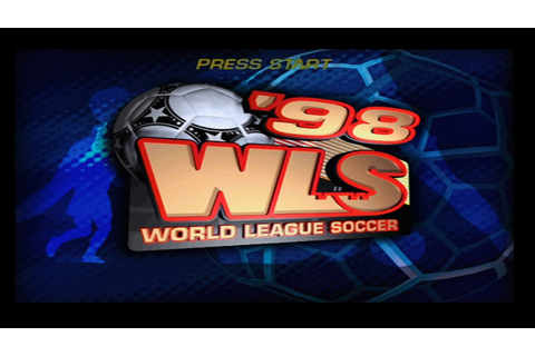 World League Soccer 98 PS1 - YouTube
