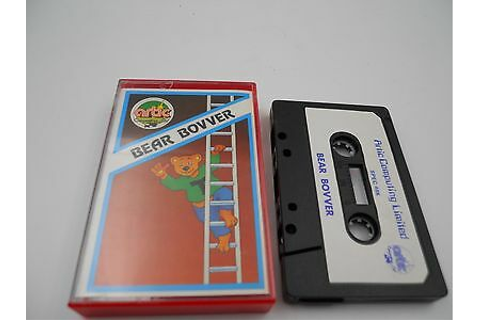 Game Cassette bear bovver spectrum sinclair zx 48 128k ...