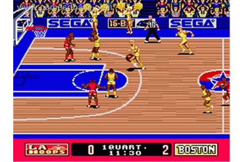 Super Real Basketball ROM - SEGA Genesis (Genesis ...