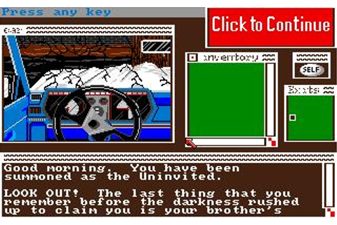 Uninvited Download (1987 Amiga Game)