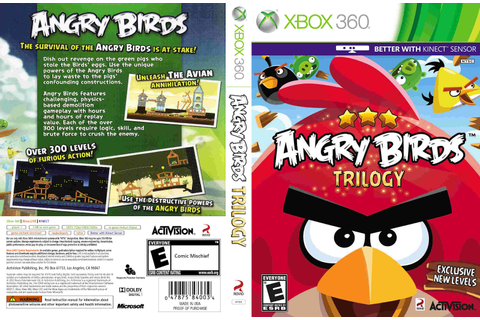 Games Covers: Angry Birds Trilogy - Xbox 360