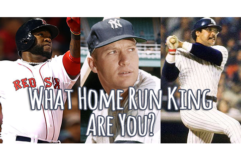 What Home Run King Are You? | Quiz Social