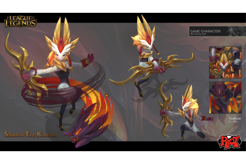 Image - Kindred ShadowFire model 1.jpg | League of Legends ...