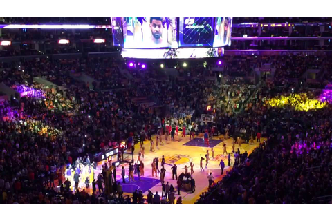 Clippers vs Lakers Opening Night Game 2013 Player ...