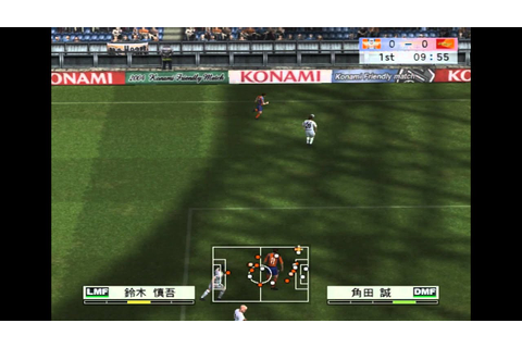 J League Winning Eleven 8 Asia Championship Gameplay HD ...