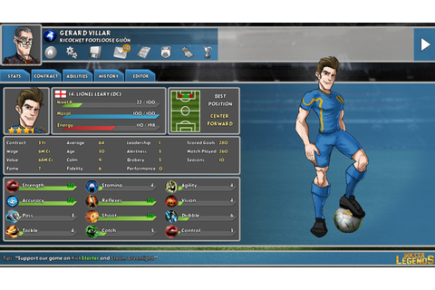 Soccer Legends RPG tactics game on Kickstarter - Linux ...