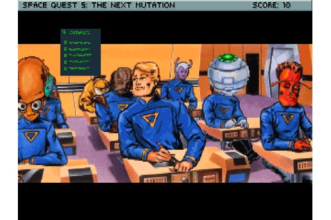 Space Quest V: The Next Mutation – Sierra Classic Gaming