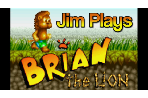 Brian the Lion, Amiga - Overlooked Oldies - YouTube