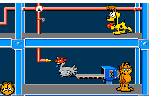 Dazeland : Jeux Amiga : Garfield: Winter's Tail