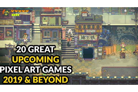 20 Great Pixel Art Games 2019 & Beyond - YouTube