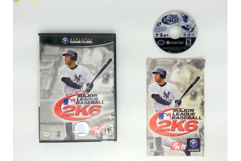 Major League Baseball 2K6 game for Nintendo Gamecube ...