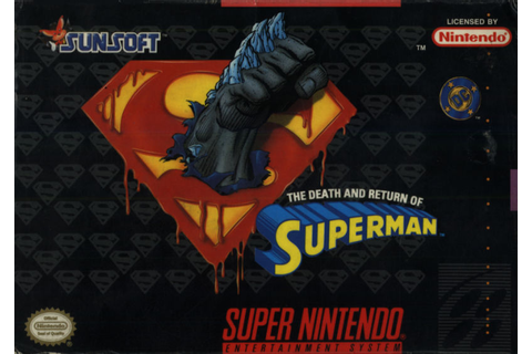 The Death and Return of Superman for Genesis (1994) Trade ...