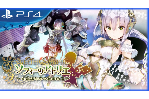 Atelier Sophie: The Alchemist of the Mysterious Book ...