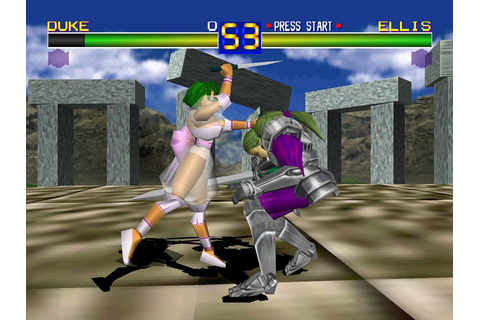 Retro Gaming- Battle Arena Toshinden: (1995) – Gaming ...