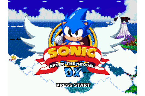 Sonic: After the Sequel DX Details - LaunchBox Games Database