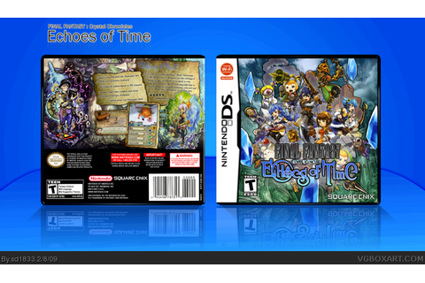 Final Fantasy Crystal Chronicles Echoes of Time Nintendo ...