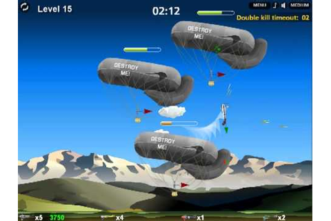 WALKTHROUGH - Dogfight Aces (Flash game) - YouTube