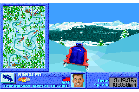 The Games: Winter Challenge (1991) by MindSpan MS-DOS game
