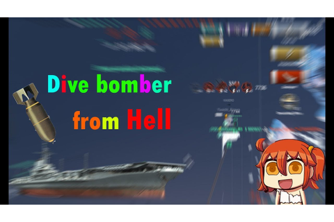 World of Warships : Dive bomber from Hell - YouTube