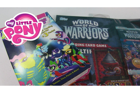 MLP & World of Warriors Trading Card Game Cards My Little ...