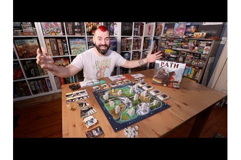 Path of Light and Shadow board game review - YouTube