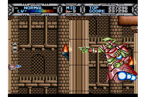 My all time favourite video games: Gaiares - Sega Mega ...