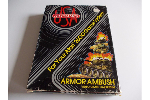 Atari 2600 VCS Armor Ambush : scans, dump, download ...