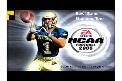 NCAA Football 2005 Bowl Game Stadiums Tour (4K60FPS) - YouTube