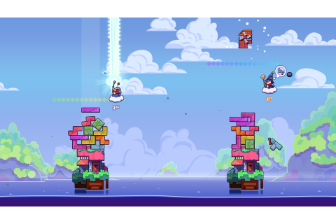 Tricky Towers Melds Tetris and Jenga Brilliantly | USgamer