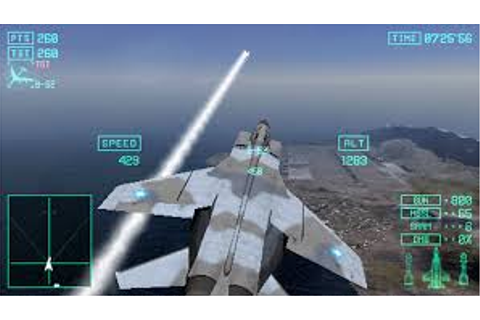 Ace Combat X Skies of Deception ISO for PPSSPP - isoroms.com