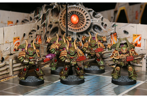 CoolMiniOrNot - Space Crusade - Chaos Space Marines by ...