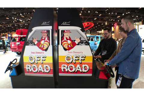 Super Off Road arcade game | 2018 Chicago Auto Show - YouTube