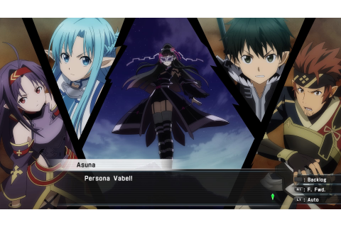 Game Review: Accel World Vs Sword Art Online (PS4 ...
