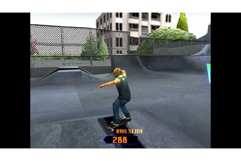 Grind Session PS1 Gameplay HD - Burnside - YouTube