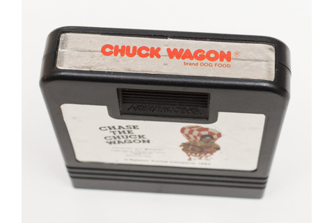 Atari 2600 VCS Chase the Chuck Wagon : scans, dump ...